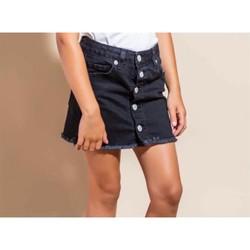 Kleidung Mädchen Röcke Vicolo 3146GD0345 Rock Kind SCHWARZ SCHWARZ