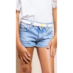 Kleidung Mädchen Shorts / Bermudas Vicolo 3146D0341 KURZE HOSE Kind JEANS JEANS