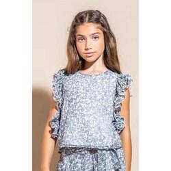 Kleidung Mädchen Tops / Blusen Vicolo 3146C0458 Hemden Kind BLUMEN BLUMEN