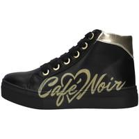 Schuhe Mädchen Sneaker High Café Noir C-841 SCHWARZ