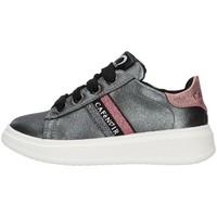 Schuhe Mädchen Sneaker Low Café Noir C-740 GRAU