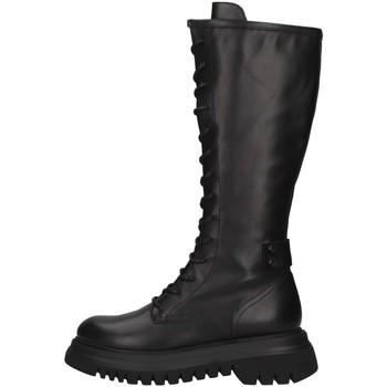 Schuhe Damen Klassische Stiefel Janet Sport 46702 SCHWARZ