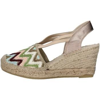 Schuhe Damen Sandalen / Sandaletten Vidorreta 18400 BEIGE