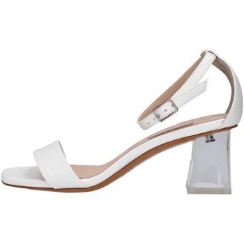 Schuhe Damen Sandalen / Sandaletten Albano 4151 WEISS