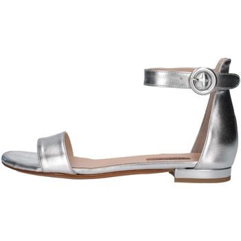Schuhe Damen Sandalen / Sandaletten Albano 4220 SILBER