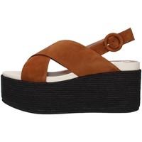 Schuhe Damen Sandalen / Sandaletten Tres Jolie 2801/MONY LEDER
