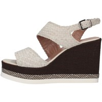 Schuhe Damen Sandalen / Sandaletten Tres Jolie 2903/VALE/MSL WEISS