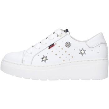 Schuhe Damen Sneaker Low CallagHan 14920 WEISS