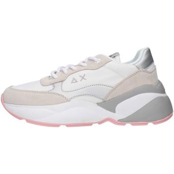 Schuhe Damen Sneaker Low Sun68 Z30220 WEISS