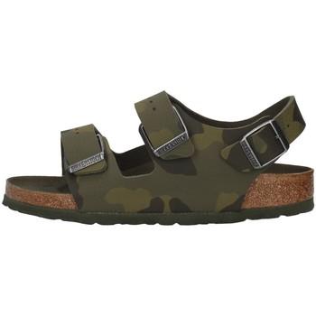 Schuhe Jungen Sandalen / Sandaletten Birkenstock 1014590 GRÜN