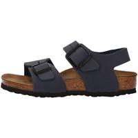 Schuhe Jungen Sandalen / Sandaletten Birkenstock 087773 NAVY BLAU
