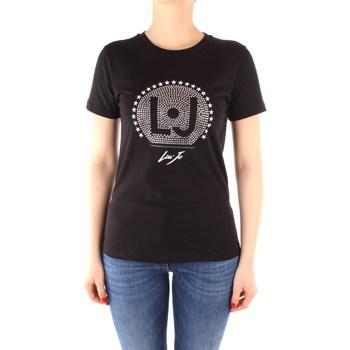 Kleidung Damen T-Shirts Liu Jo CA0199J5884 SCHWARZ