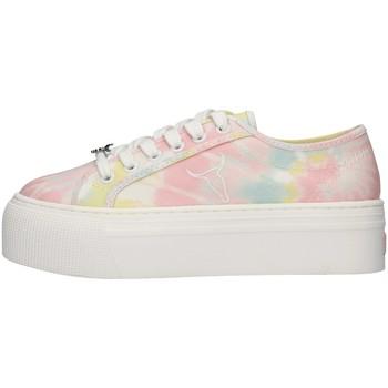 Schuhe Damen Sneaker Low Windsor Smith WSPRAYS ROSA
