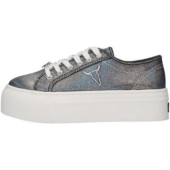 Schuhe Damen Sneaker Low Windsor Smith WSPRUBY SCHWARZ