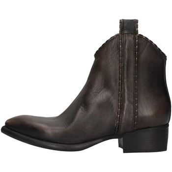 Schuhe Damen Low Boots Zoe NEWTOP02/P BRAUN