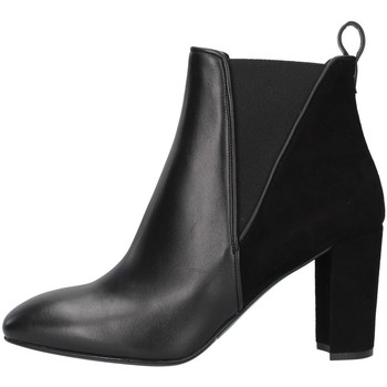 Schuhe Damen Low Boots Albano 1055 SCHWARZ