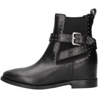 Schuhe Damen Low Boots Albano 1222 SCHWARZ