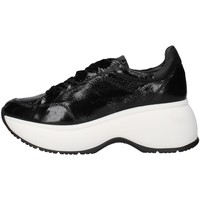 Schuhe Damen Sneaker Low Janet Sport 44750 SCHWARZ
