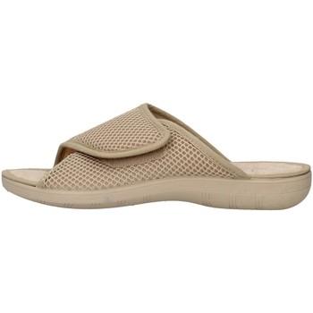 Schuhe Damen Pantoffel Superga S10M624 BEIGE