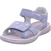 Schuhe Jungen Sandalen / Sandaletten Legero Sandale Leder \ SPARKLE HELLBLAU/SILBER 8
