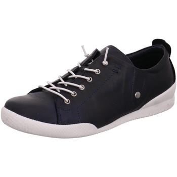Schuhe Damen Sneaker Low Andrea Conti Schnuerschuhe 0345724017 blau