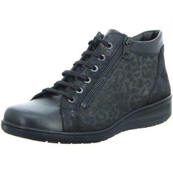Schuhe Damen Boots Solidus Stiefeletten Kate 29007-90246 schwarz
