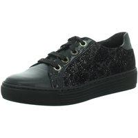 Schuhe Damen Sneaker Low Solidus Schnuerschuhe Hazel 3700290237 3700290237 schwarz