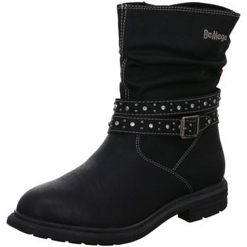 Schuhe Mädchen Low Boots Be Mega Stiefel 7961006 schwarz