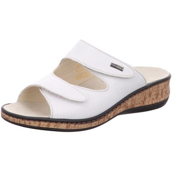 Schuhe Damen Pantoffel Fidelio Pantoletten 245012-11 weiß