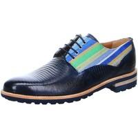 Schuhe Herren Derby-Schuhe Melvin & Hamilton Schnuerschuhe HENRY 34 blau