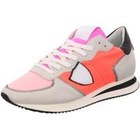 Schuhe Damen Sneaker Low Philippe Model TZLD WZ10 rot