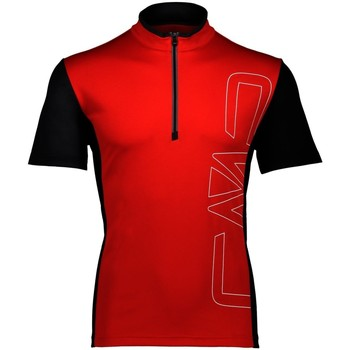 Kleidung Herren T-Shirts Cmp Sport MAN FREE BIKE HALF ZIP T-SHIRT 38C9077 C580 Other