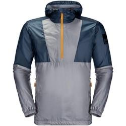 Kleidung Herren Windjacken Jack Wolfskin Sport 365 THUNDERCLAP OVERHEAD M 1306971 1165 blau