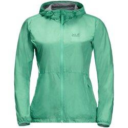 Kleidung Damen Windjacken Jack Wolfskin Sport JWP BREATHER W 1306611 4076 grün