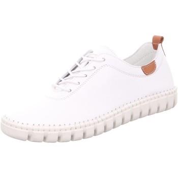 Schuhe Damen Sneaker Low Gemini Schnuerschuhe 394050-02/001 weiß