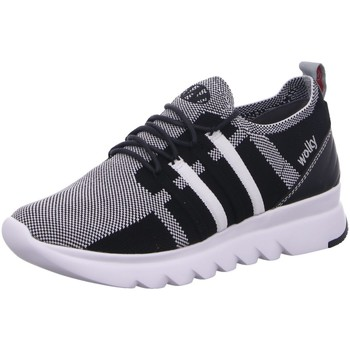 Schuhe Damen Sneaker Low Wolky Schnuerschuhe MAKO 0212590 100 grau