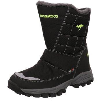 Schuhe Jungen Schneestiefel Kangaroos Winterstiefel 18092 000 5008 schwarz