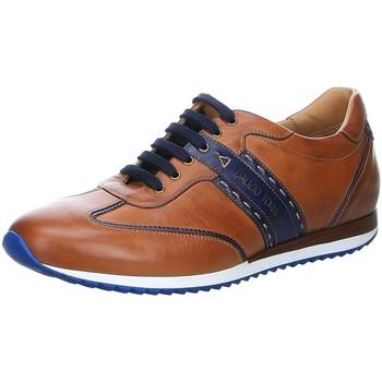 Schuhe Herren Sneaker Low Galizio Torresi Schnuerschuhe marrone/blu 313610-1659ZEP7 V19066 braun