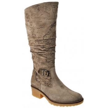 Schuhe Damen Klassische Stiefel Alviero Martini FürFondsstiefel Grau