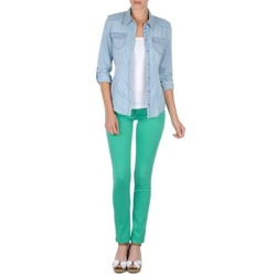 Kleidung Damen 5-Pocket-Hosen Cimarron CASSIS Grün