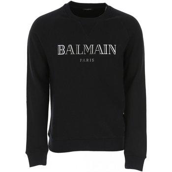 Kleidung Herren Sweatshirts Balmain SH13279 Schwarz