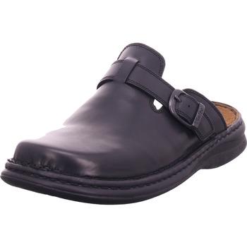 Schuhe Herren Pantoletten / Clogs Seibel Madrid schwarz