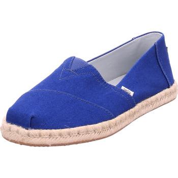 Schuhe Damen Derby-Schuhe & Richelieu Toms - 10015052 blau