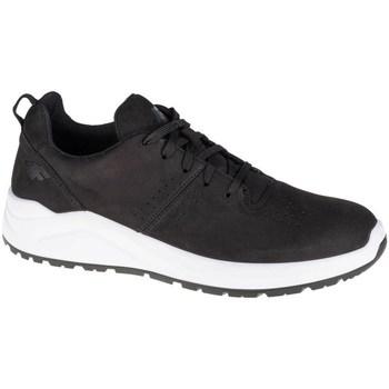 Schuhe Herren Sneaker Low 4F OBML251 Weiß, Schwarz