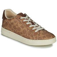 Schuhe Damen Sneaker Low Coach LOWLINE Braun