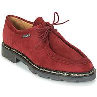 Schuhe Herren Derby-Schuhe Pellet Macho Rot