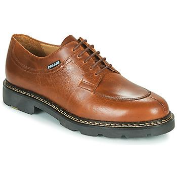 Schuhe Herren Derby-Schuhe Pellet Montario Braun