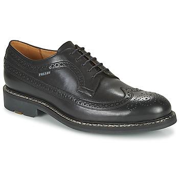 Schuhe Herren Derby-Schuhe Pellet NORMAN Schwarz
