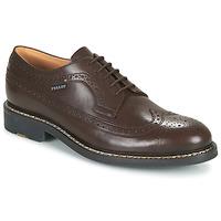 Schuhe Herren Derby-Schuhe Pellet NORMAN Braun