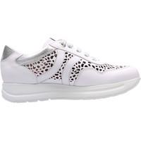 Schuhe Sneaker Low CallagHan - Sneaker bianco 40721 BIANCO